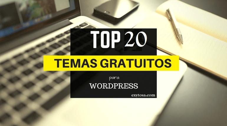 20 Temas Gratis WordPress responsive archivos | EXYTOSA