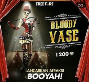 Bloody Vase Free fire
